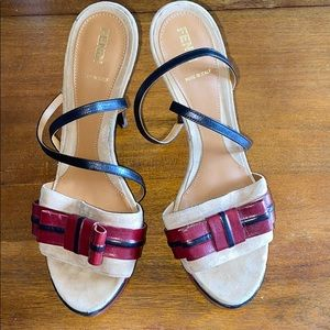 Fendi Platform Sandal Heel [size 40]